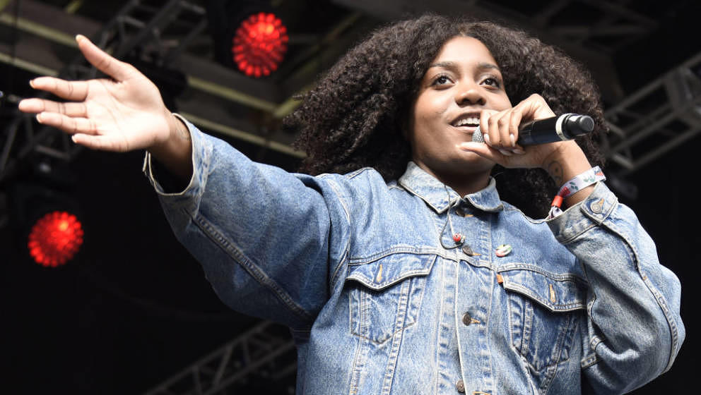 """Noname hier 2017 beim """"Outside Lands Music and Arts Festival"""" in San Francisco."""