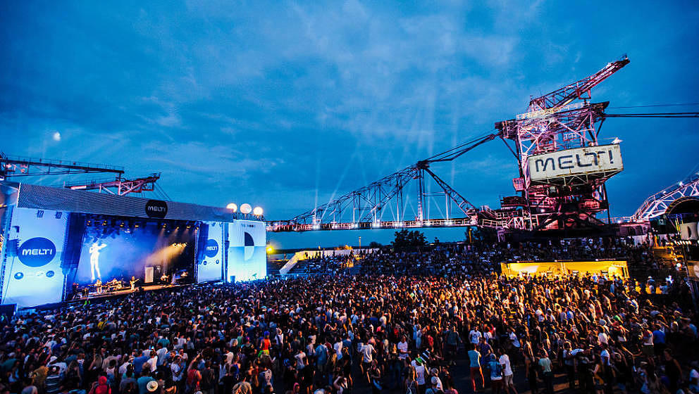 GRAEFENHAINICHEN, GERMANY - JULY 18:  A general view of Melt! Festival on July 18, 2015 in Graefenhainichen, Germany.  (Photo