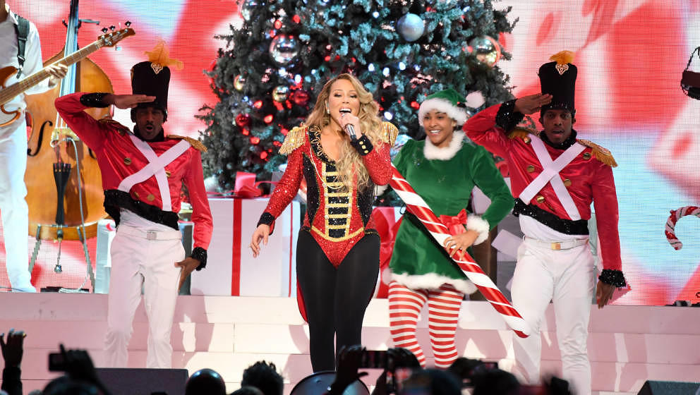 "Mariah Carey auf ihrer ""All I Want For Christmas Is You""-Tour im Madison Square Garden am 15. Dezember 2019"