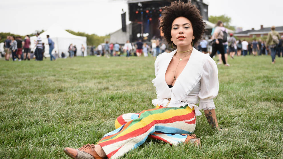 NEW YORK, NY - SEPTEMBER 08:  Madison McFerrin attends Pitchfork And October Present OctFest 2018 at Governors Island on Sept