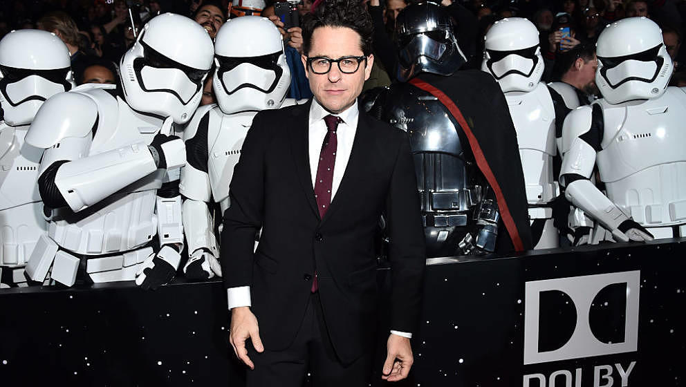 "HOLLYWOOD, CA - DECEMBER 14:  Director J.J. Abrams attends the World Premiere of ""Star Wars: The Force Awakens"" at the Dolb"