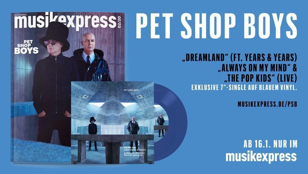 So sieht der ME 02/2020 mit den Pet Shop Boys aus