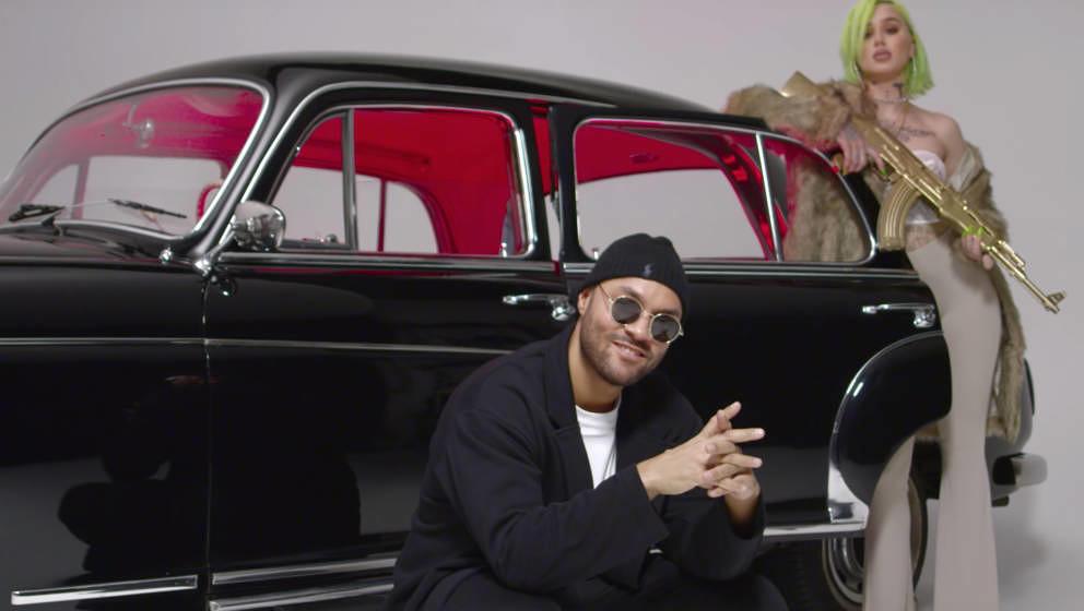 """Tarek K.I.Z in seinem Musikvideo zu """"Bang Bang"""""""