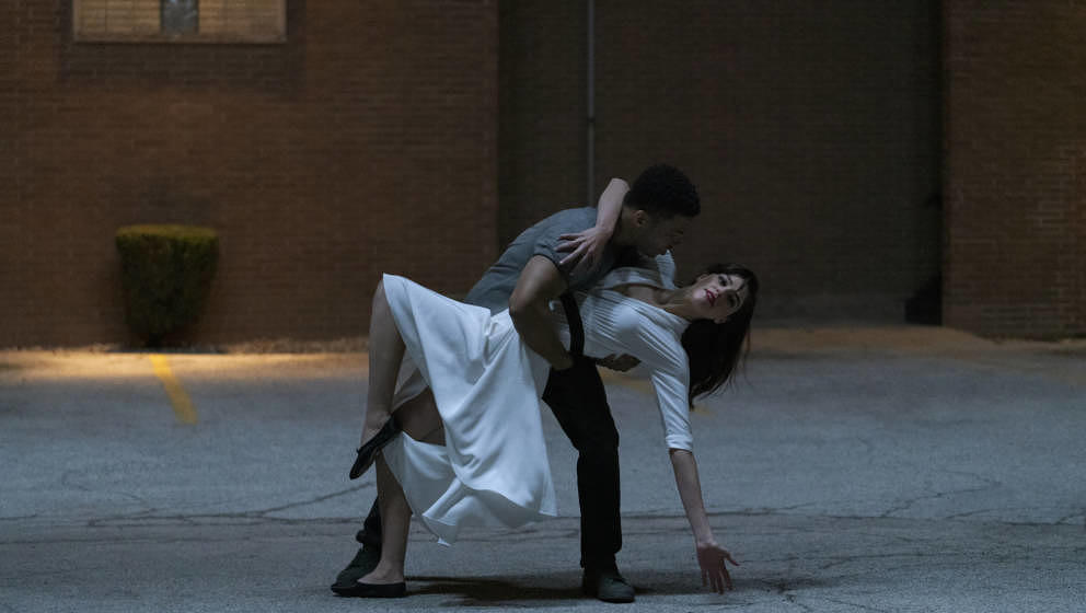 """Choreographie zweier Liebender: Paul James und Callie Hernandez tanzen zum """"Soundtrack""""."""