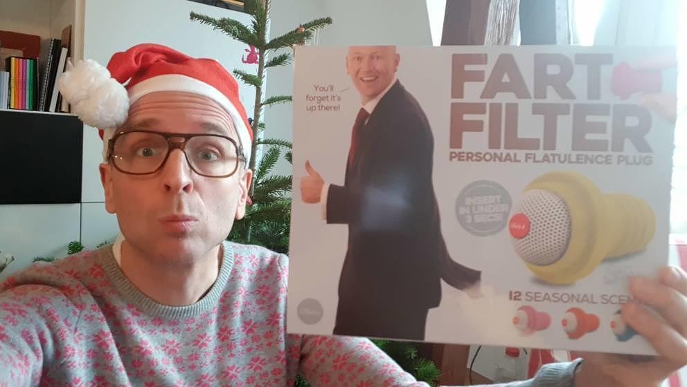 Selfie für die Weihnachtsausgabe