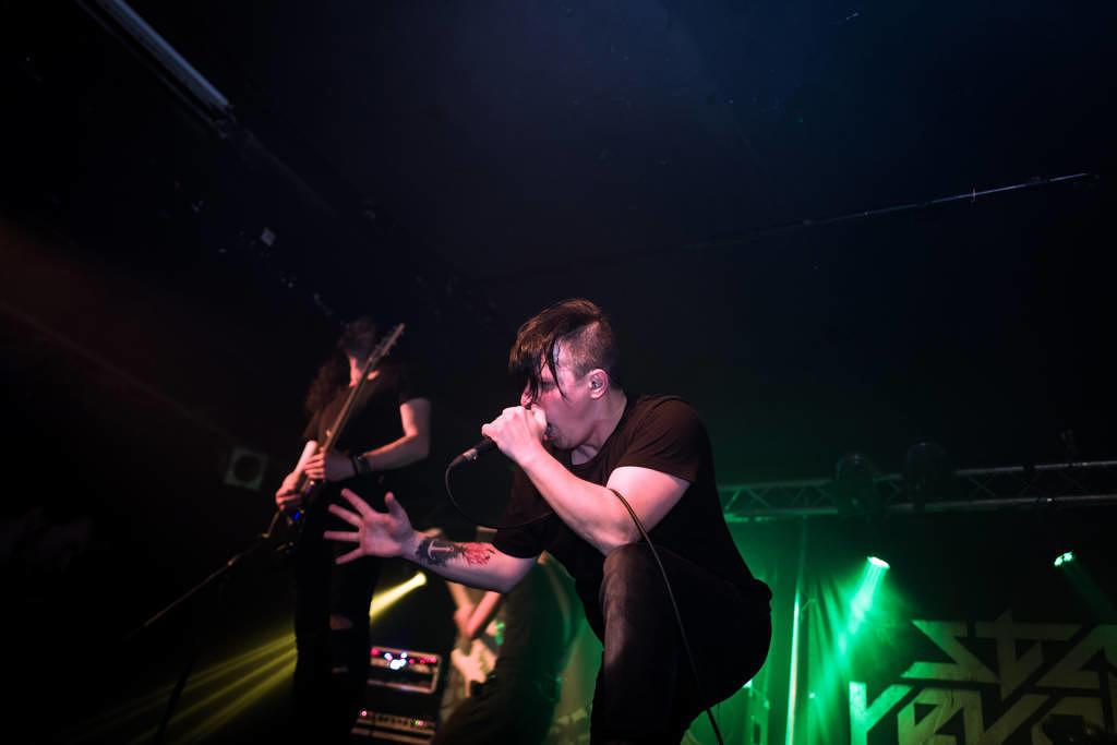 Patrick Portnicki live mit seiner Band Start A Revolution