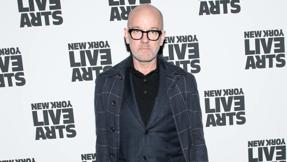 NEW YORK, NY - APRIL 16: Michael Stipe attends the 2018 New York Live Arts Gala at Irving Plaza on April 16, 2018 in New York