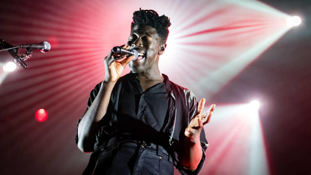 ROTTERDAM, NETHERLANDS - JULY 15: Moses Sumney performs on stage at North Sea Jazz Festival at Ahoy on July 15, 2018 in Rotte