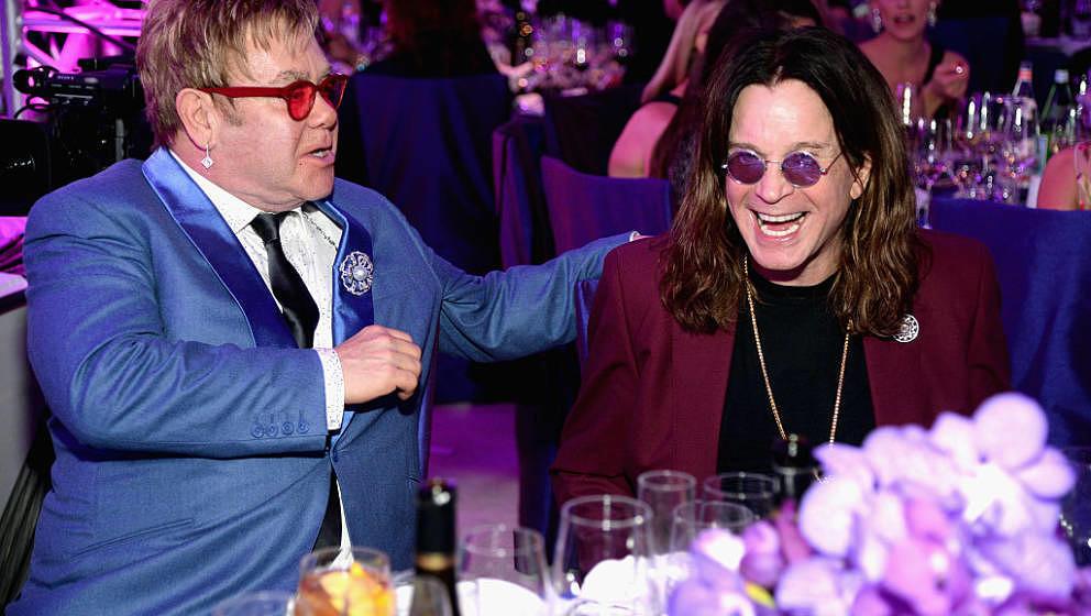 Elton John und Ozzy Osbourne arbeiten jetzt an einem gemeinsamen Song.