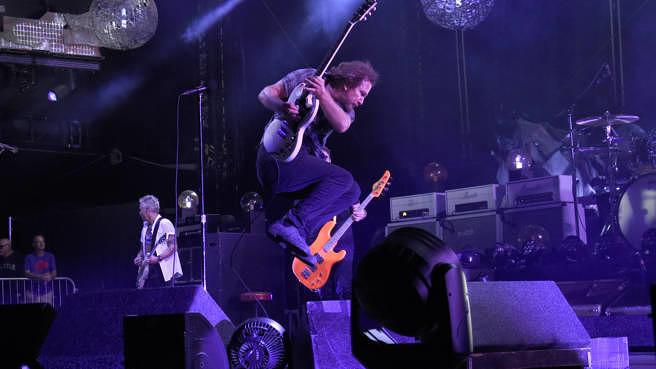 Pearl Jam live am 4. September 2018 im Fenway Park in Boston