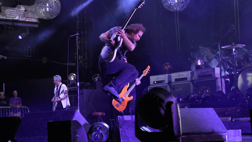 Pearl Jam live am 4. September 2018 im Fenway Park in Boston
