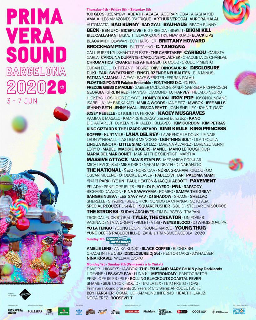 Bikini Kill feiern ihre Reunion auf dem Primavera Sound 2020.