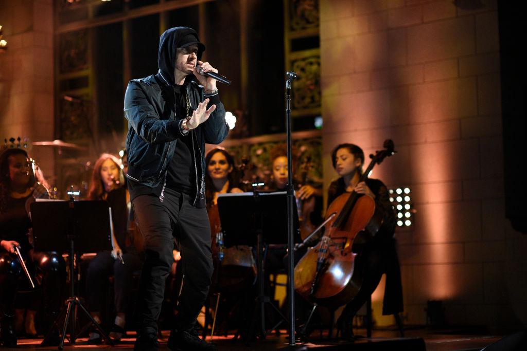 Eminem veröffentlicht Überraschungsalbum MUSIC TO BE MURDERED...