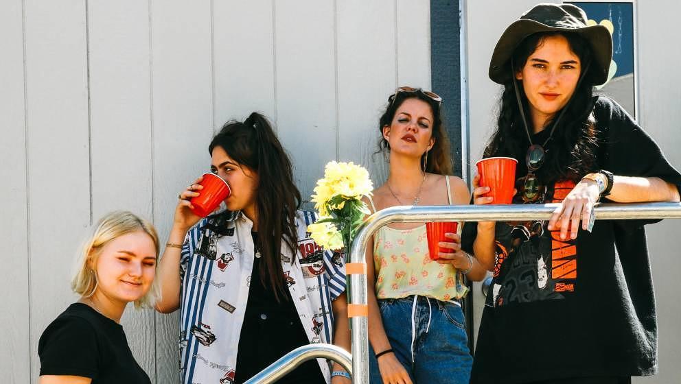 Gehen 2020 auf große Europa- und UK-Tour: die spanischen Indierockerinnen Hinds.