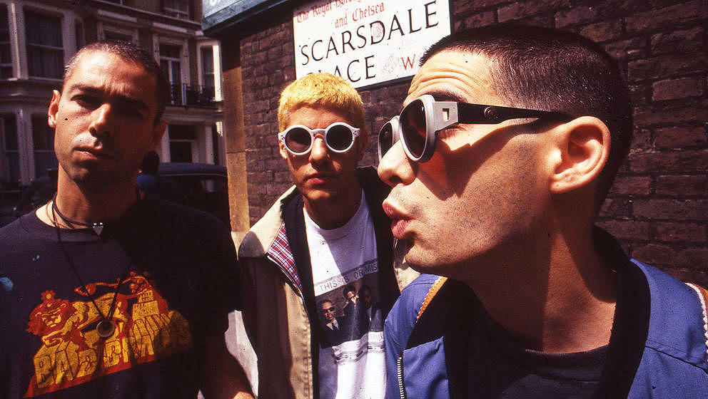 Die Beastie Boys im Jahr 1994 in London