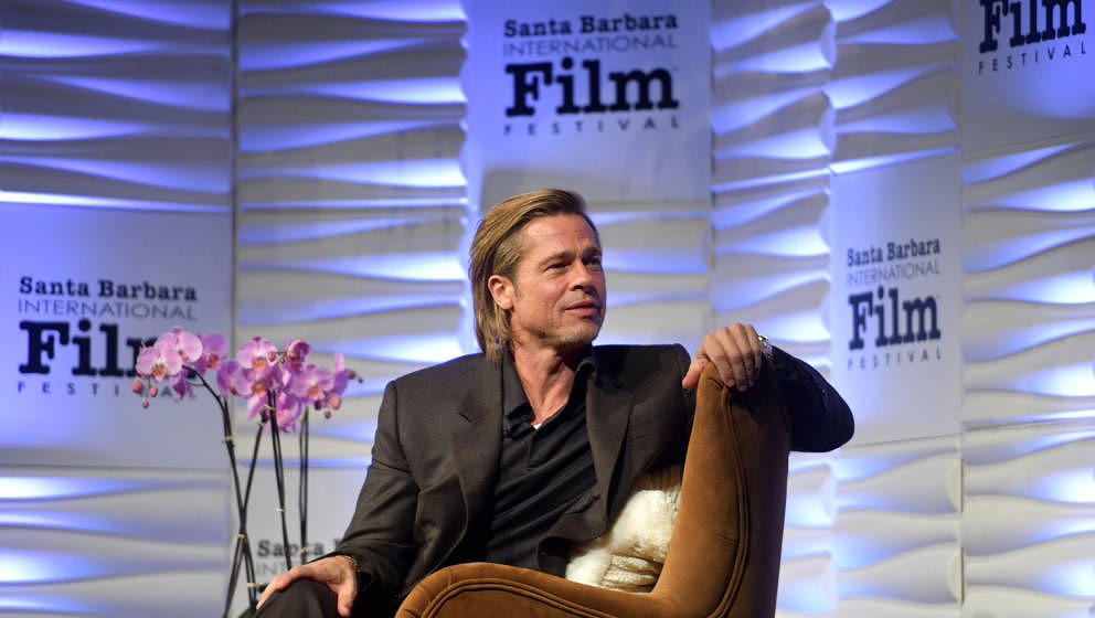 SANTA BARBARA, CALIFORNIA - JANUARY 22: Brad Pitt attends the Maltin Modern Master Award Honoring Brad Pitt during the 35th S