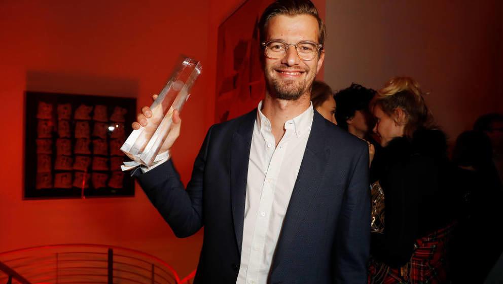 Joko Winterscheidt beim Deutschen Fernsehpreis 2017