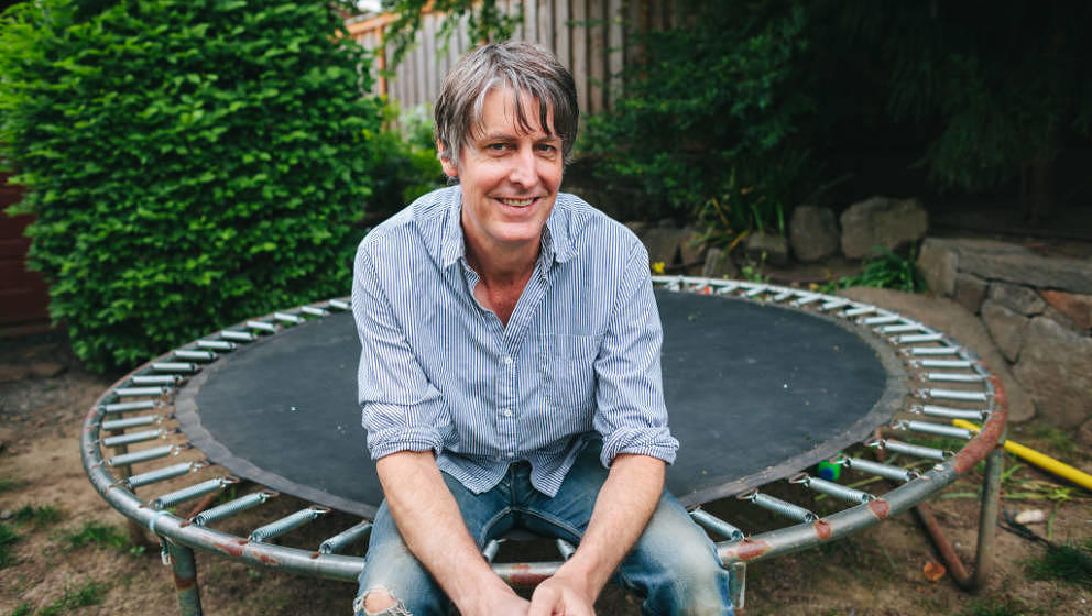 PORTLAND, OR - APRIL 27: Musician Stephen Malkmus at home. (Photo by Jason Quigley/For The Washington Post via Getty Images)