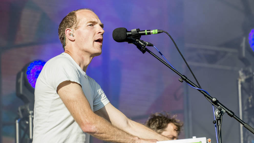 Dan Snaith live als Caribou im Juli 2016 in London