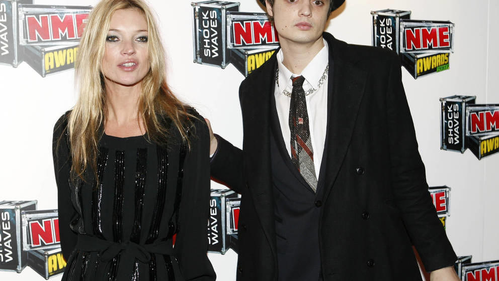 Kate Moss und ein mutmaßlich nicht ganz cleaner Pete Doherty im Jahr 2007