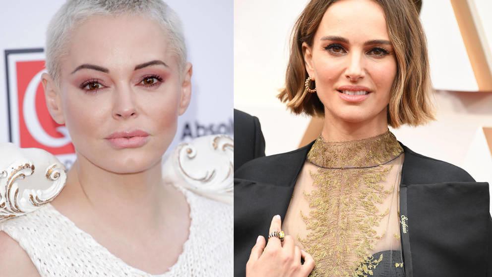 Rose McGowan war gar nicht glücklich über Natalie Portmans Outfitwahl bei den Oscars.