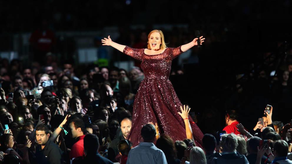 Adele live in Australien 2017.