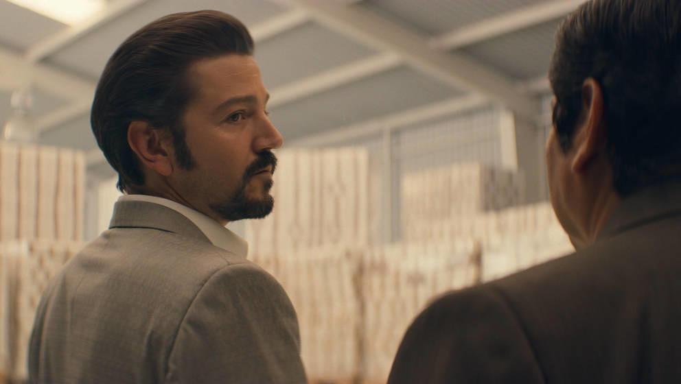 """Félix Gallardo (Diego Luna) in der zweiten Staffel von """"Narcos: Mexico"""""""