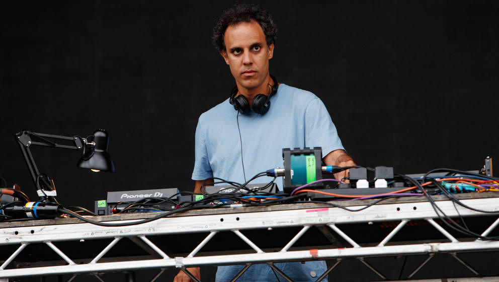 Four Tet live beim Lovebox 2019 am 13. Juli in London