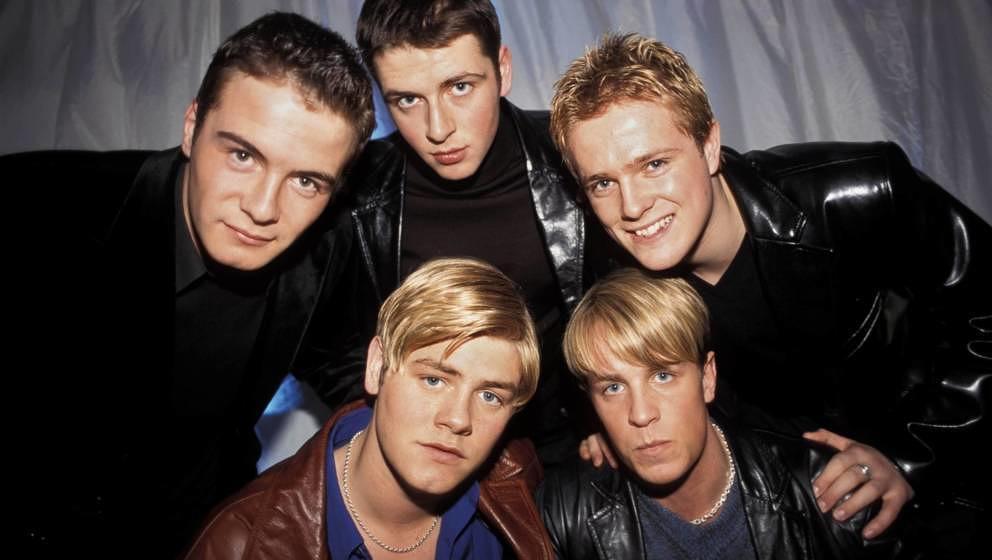 Großbritannien: VH1  Foto von WESTLIFE  (Photo by Patrick Ford/Redferns)