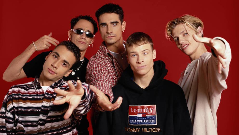 Die Backstreet Boys vor etwa 25 Jahren.