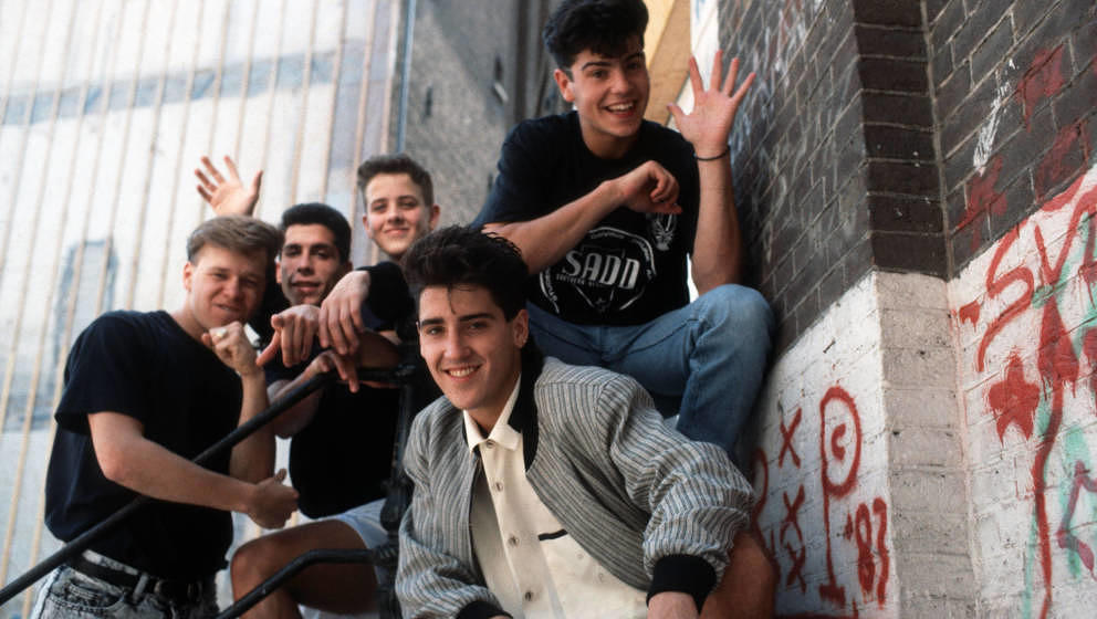 UNSPECIFIED - JANUARY 01:  Photo of NEW KIDS ON THE BLOCK and Donnie WAHLBERG and Joey McINTYRE and Danny WOOD and Jonathan K