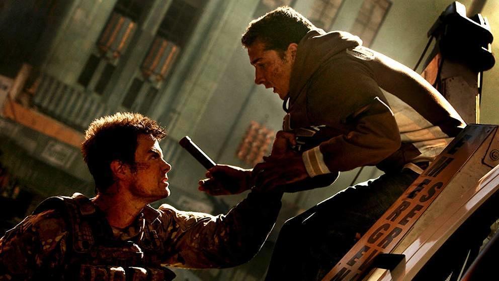 Josh Duhamel und Shia LeBeouf 2007 in 'Transformers'