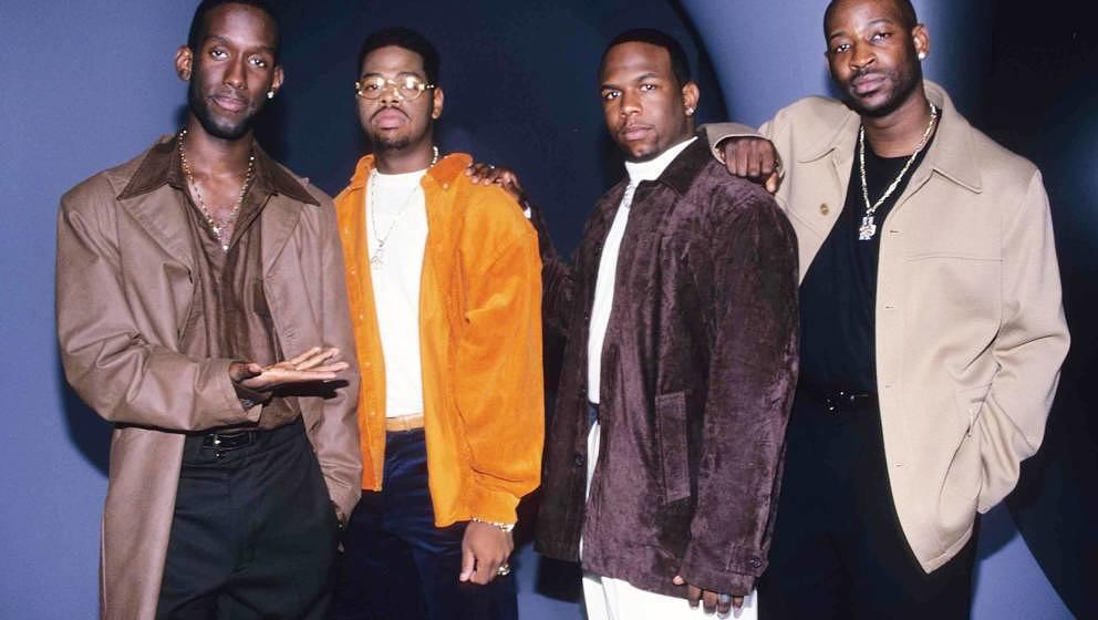 Boyz II Men during Boyz II Men Music Video Shoot - September 1, 1997 at London in London, Great Britain. (Photo by Fred Duval