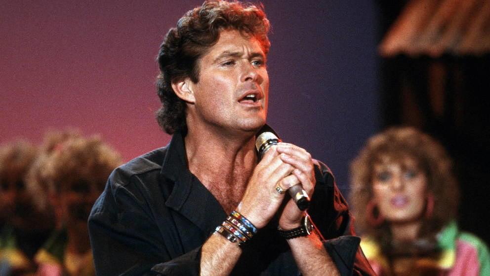 David Hasselhoff live 1989