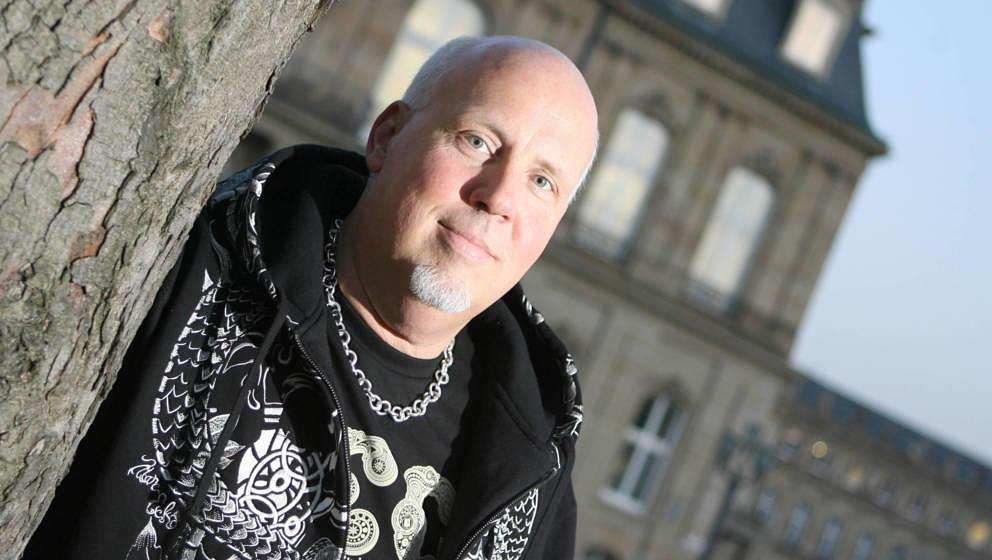 """Andreas """"Bär"""" Läsker im Februar 2008 in Stuttgart"""