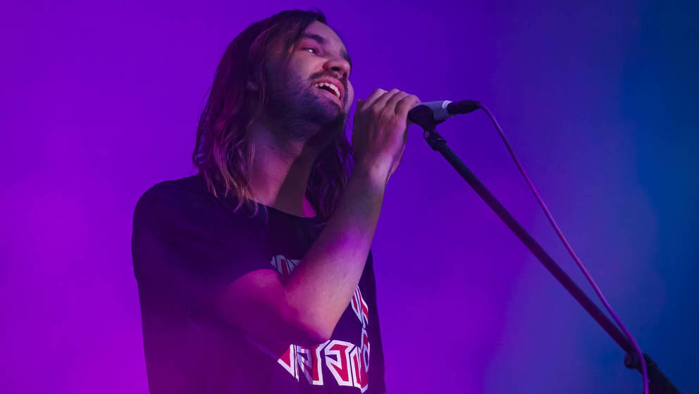 Kevin Parker mit Tame Impala live im August 2019 in Montreal