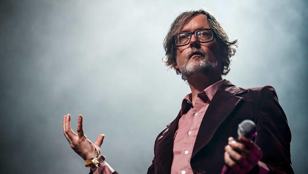 BARCELONA, SPAIN - JUNE 01:  Jarvis Cocker performs in concert during Primavera Sound on June 1, 2019 in Barcelona, Spain.  (