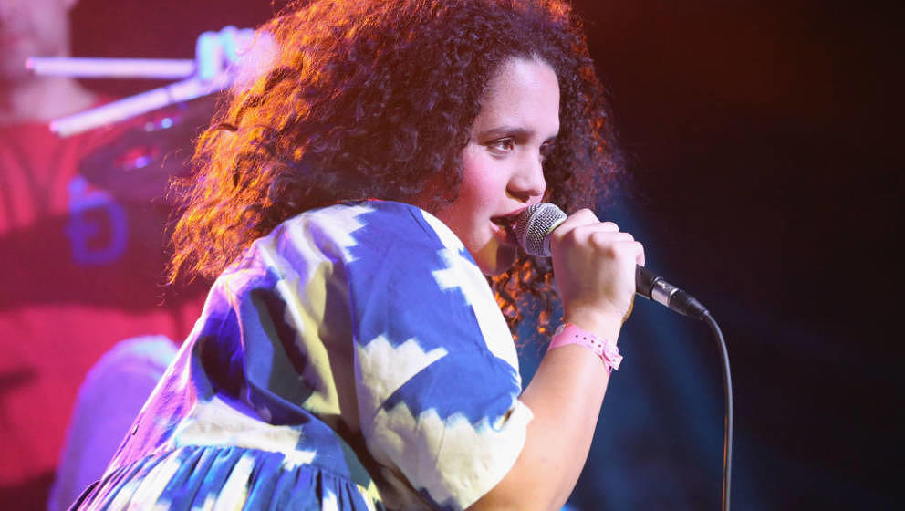 AUSTIN, TX - MARCH 12:  Lido Pimienta performs onstage at Meow Wolf  during SXSW at Empire Garage on March 12, 2018 in Austin