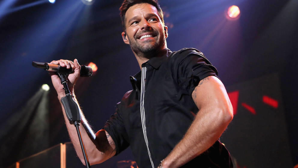 BURBANK, CA - FEBRUARY 10:  Ricky Martin on the Honda Stage at the iHeartRadio Theater Los Angeles on February 10, 2015 in Bu
