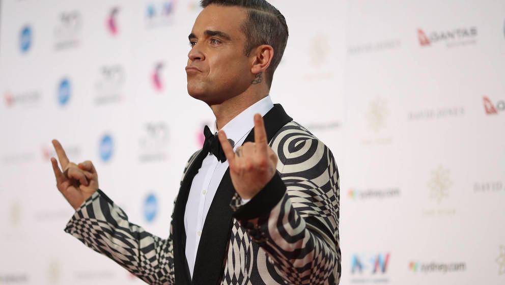 Robbie Williams will sich ein Weihnachtsfest mit all seinen Liebsten nicht nehmen lassen.