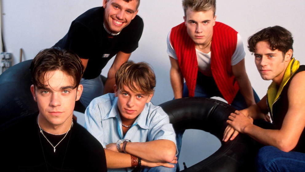 Take That im Jahr 1991.