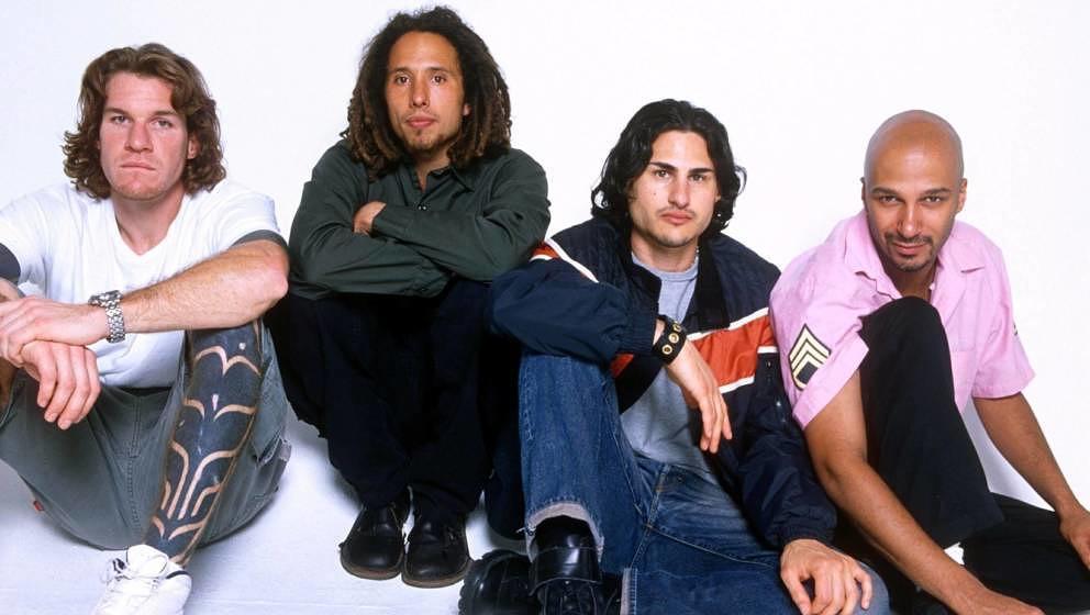 Müssen ihre erste Tour seit zehn Jahren wegen des Coronavirus-Ausbruchs fürs Erste verschieben: Rage Against The Machine.