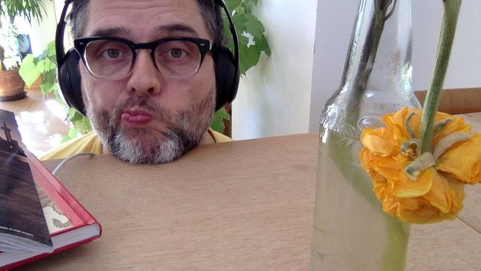 ME-Autor Oliver Götz im Homeoffice
