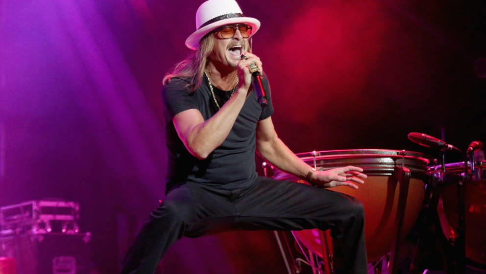ARLINGTON, TEXAS - MAY 11:  Kid Rock performs in concert during day two of KAABOO Texas at AT&T Stadium on May 11, 2019 i