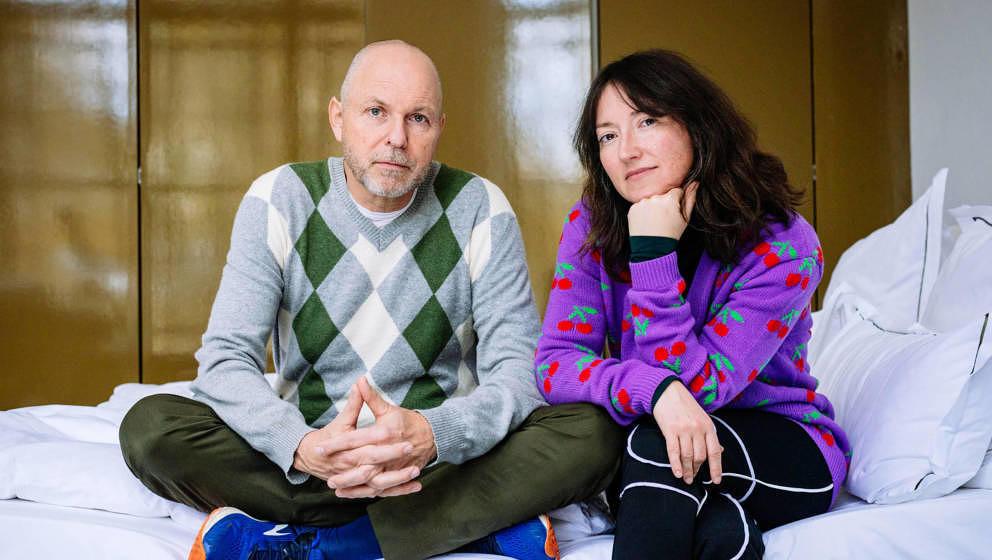 """Zeigen sich seit der zweiten Staffel """"Paardiologie"""" auch gemeinsam VOR der Kamera: Charlotte Roche und ihr Mann Martin Ke"""