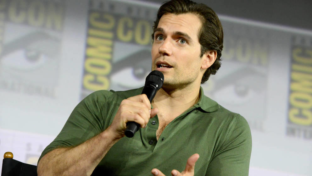 SAN DIEGO, CALIFORNIA - JULY 19: Henry Cavill speaks at 'The Witcher': A Netflix Original Series Panel during 2019 Comic-Con