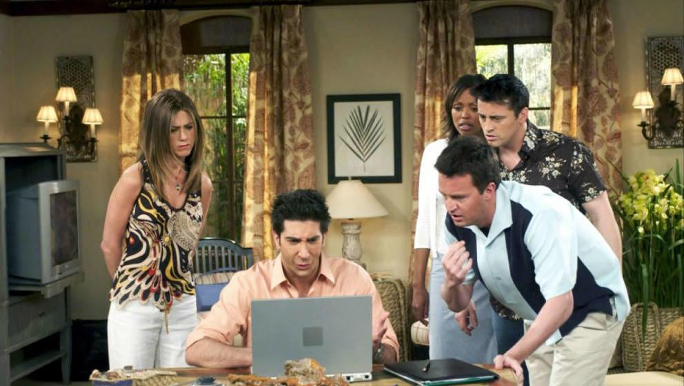 """Die """"Friends""""-Reunion sollte eigentlich Ende März gedreht werden."""