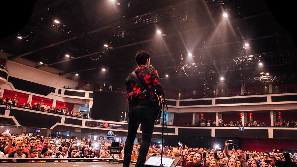Als ob nichts wäre: Kelly Jones mit den Stereophonics live in der  Motorpoint Arena am 15. März 2020 in Cardiff, Wales.