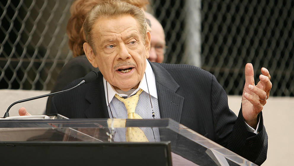Jerry Stiller during Jerry Stiller and Anne Meara Honored with a Star on the Hollywood Walk of Fame at 7018 Hollywood Blvd. i