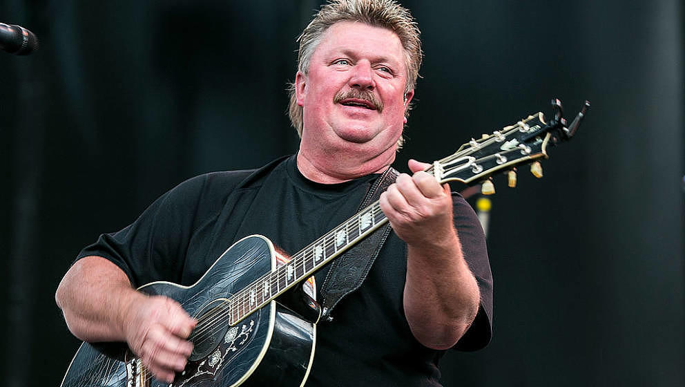 GEORGE, WA - AUGUST 02:  Joe Diffie performs on stage at the Watershed Music Festival 2014 at The Gorge on August 2, 2014 in